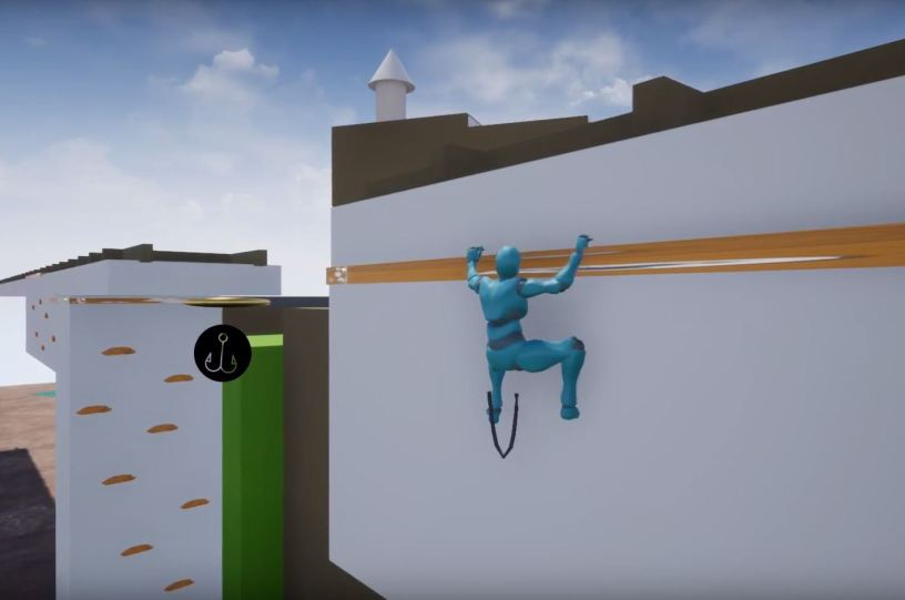 UE 4] Uncharted style climbing / grappling system – Cheng-Hao