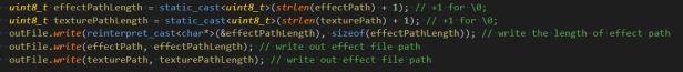 MaterialBuilderWriteTexturePath.JPG